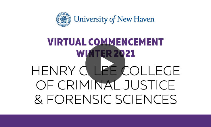 Henry C. Lee College of Criminal Justice & Forensic Sciences graphic