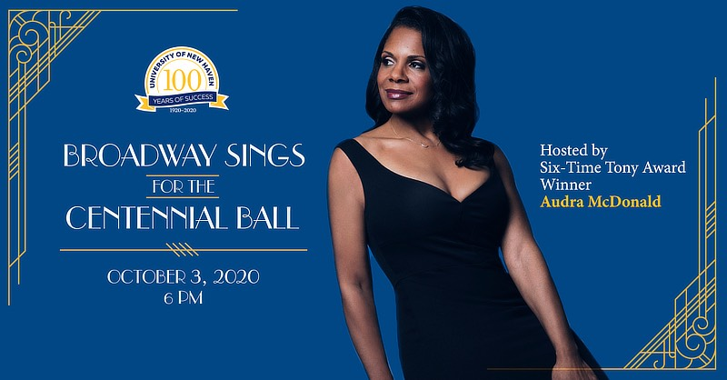 Image of Tony Award winner Audra McDonald.