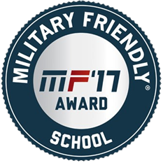 G.I. Jobs Magazine - Military Friendly School 2017 logo