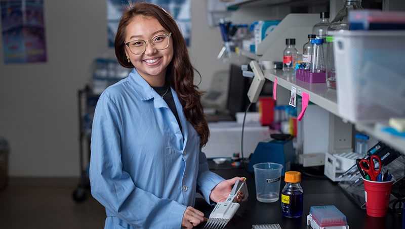 Image of Alice Yi '22.