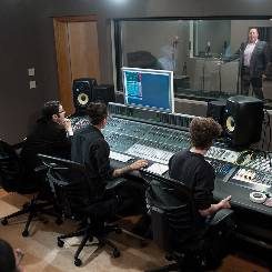 Music industry majors can live on campus in the Music Living Learning Community.