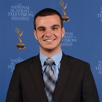 An image of communications alumnus, Ben Hammel '18