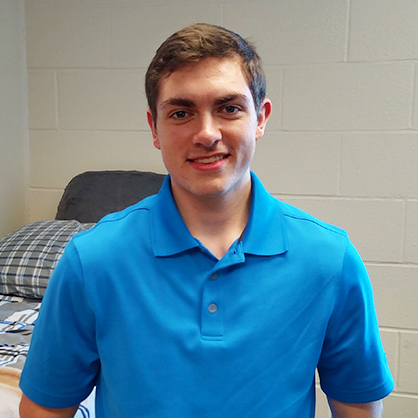John Bobish, Accounting Major