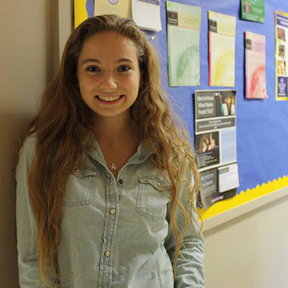 An image of Samantha Moul '17, an alumnus in one of the top forensic psychology colleges in CT.