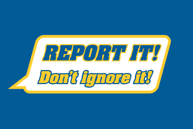Report It graphic